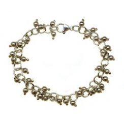 Sterling Silver Orbit Bracelet