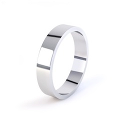 Platinum 5mm Easy Fit Wedding Ring